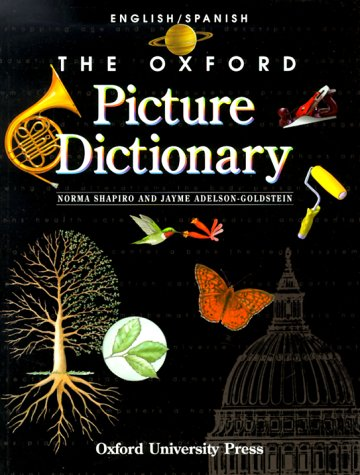 Oxford Picture Dictionary  2nd 1998 edition cover
