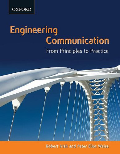 Engineering Communication From Principles to Practice  2008 edition cover