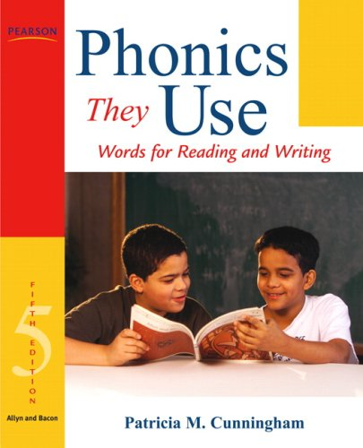 Phonics They Use Words for Reading and Writing 5th 2009 edition cover