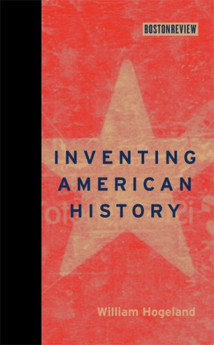 Inventing American History   2009 9780262012881 Front Cover