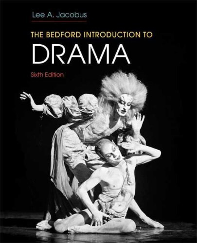 Bedford Introduction to Drama  6th edition cover