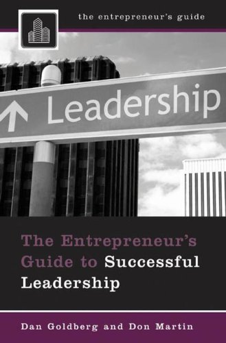 Entrepreneur's Guide to Successful Leadership   2008 edition cover