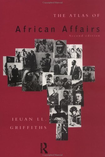 Atlas of African Affairs  2nd 1993 (Revised) edition cover