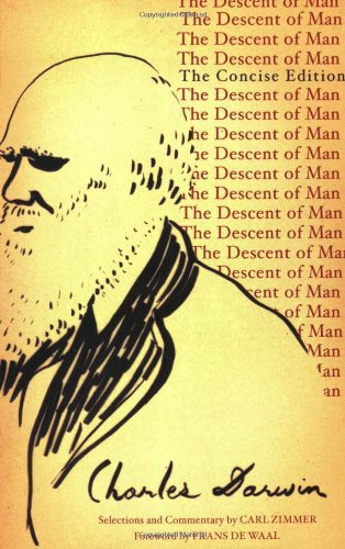 Descent of Man The Concise Edition  2007 edition cover