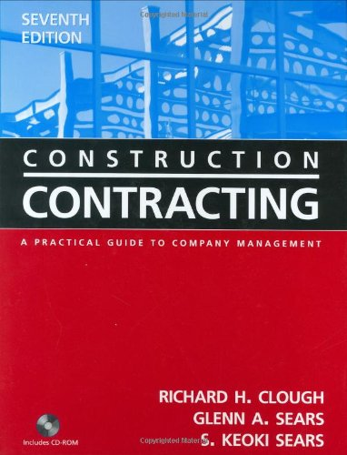 Construction Contracting A Practical Guide to Company Management 7th 2005 (Revised) edition cover