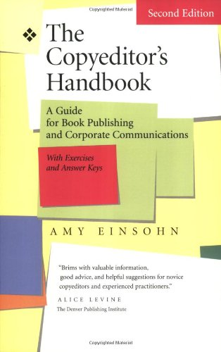 Copyeditor's Handbook A Guide for Book Publishing and Corporate Communications 2nd 2005 9780520246881 Front Cover