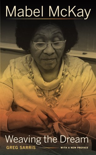 Mabel McKay Weaving the Dream  2013 edition cover