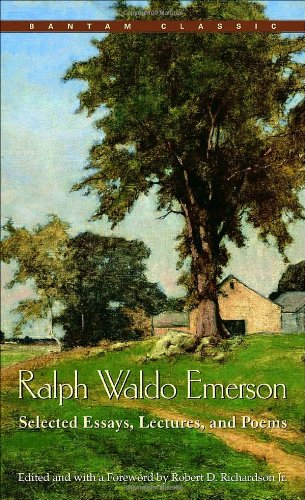 Ralph Waldo Emerson Selected Essays, Lectures and Poems  1990 edition cover