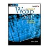 ADVANCED MS.WORD 2010:DESKTOP N/A 9780763838881 Front Cover