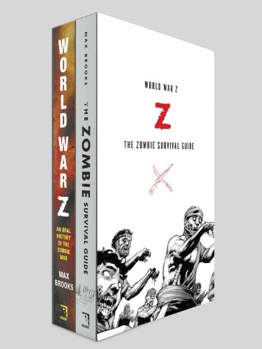 Max Brooks Boxed Set: World War Z / the Zombie Survival Guide  2013 edition cover