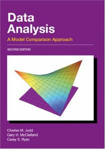 Data Analysis A Model Comparison Approach 2nd 2009 (Revised) edition cover