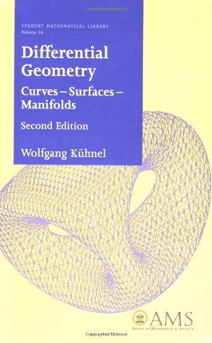 Differential Geometry Curves - Surfaces - Manifolds 2nd 2005 (Revised) 9780821839881 Front Cover
