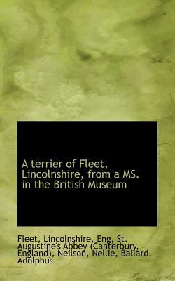 Terrier of Fleet, Lincolnshire, from a Ms in the British Museum  N/A 9781113173881 Front Cover