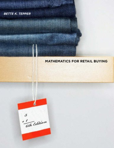 Mathematics for Retail Buying 6th Edition  6th 2008 (Revised) edition cover