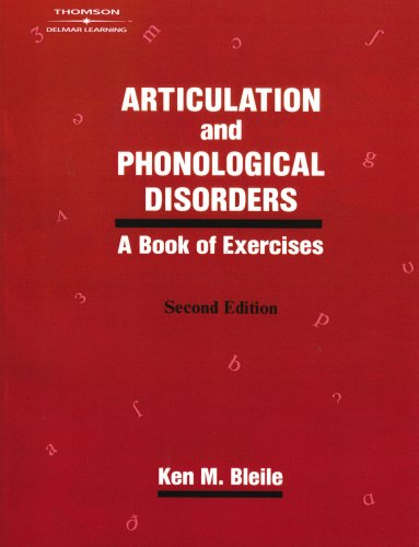 Articulation and Phonological Disorders A Book of Exercises 2nd 1997 (Revised) edition cover