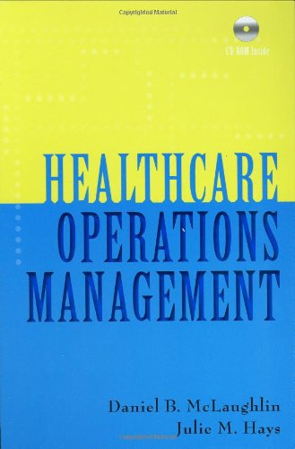 Healthcare Operations Management   2008 9781567932881 Front Cover