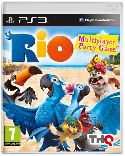 Rio (PS3) by THQ PlayStation 3 artwork