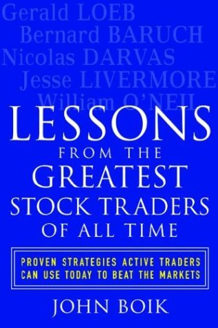 Lessons from the Greatest Stock Traders of All Time   2004 9780071437882 Front Cover