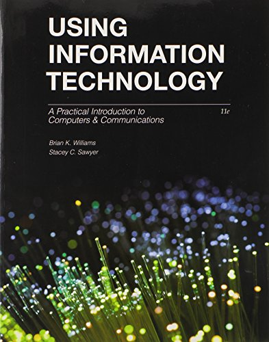 Using Information Technology:   2014 edition cover
