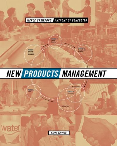 New Products Management  9th 2008 edition cover