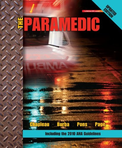 Paramedic Updated Edition   2012 edition cover