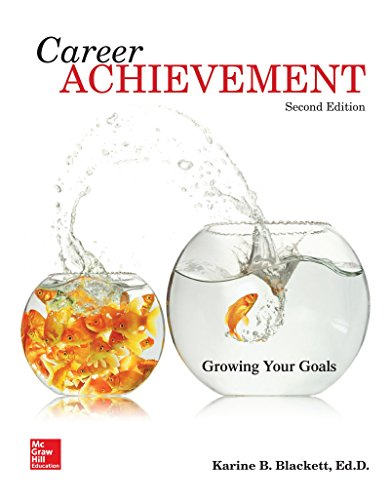Career Achievement Growing Your Goals 2nd 2016 edition cover