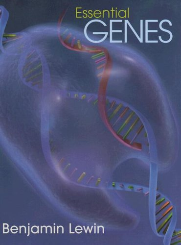 Essential Genes   2006 9780131489882 Front Cover