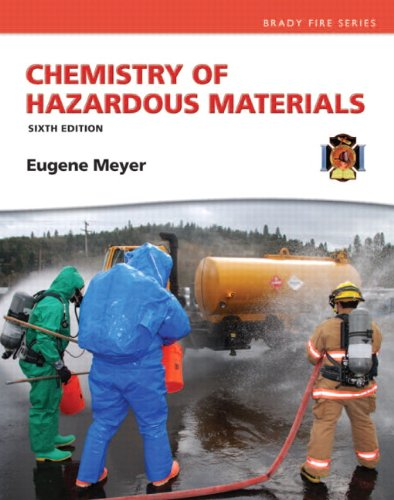 Chemistry of Hazardous Materials  6th 2014 edition cover