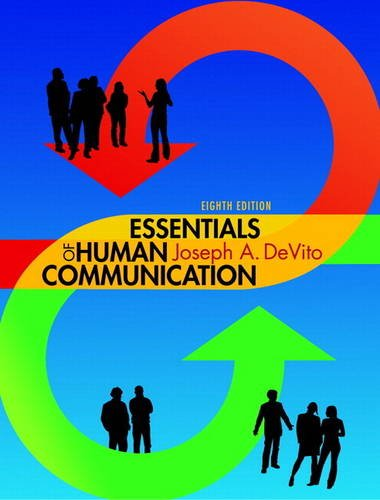 Essentials of Human Communication  8th 2014 edition cover
