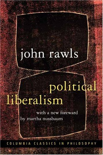 Political Liberalism  2nd 2005 (Enlarged) 9780231130882 Front Cover