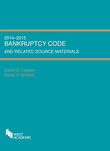 Bankruptcy Code and Related Source Materials, 2014-2015:   2014 edition cover