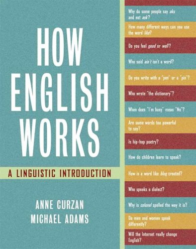 How English Works A Linguistic Introduction  2006 edition cover