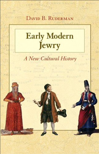 Early Modern Jewry A New Cultural History  2011 edition cover