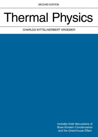 Thermal Physics  2nd 1980 9780716710882 Front Cover