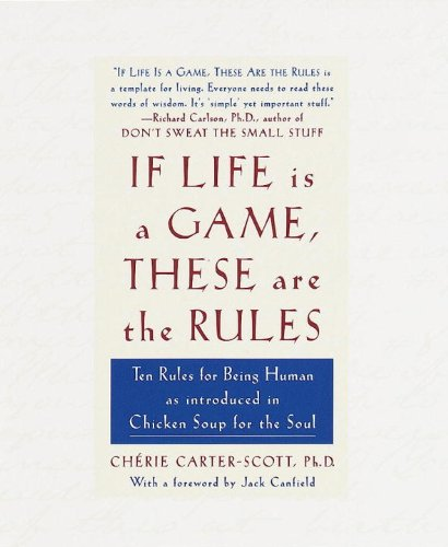 If Life Is a Game, These Are the Rules: Ten Rules for Being Human  1998 edition cover
