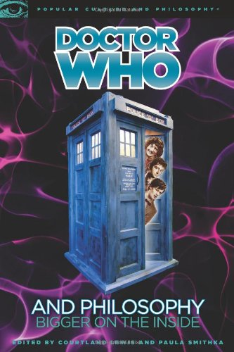 Doctor Who and Philosophy Bigger on the Inside  2010 edition cover