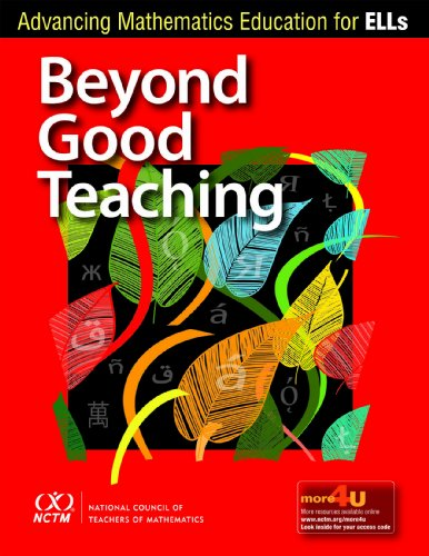 Beyond Good Teaching Advancing Mathematics Education for ELLs  2012 edition cover
