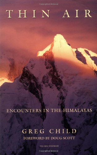 Thin Air Encounters in the Himalayas 2nd 1988 edition cover