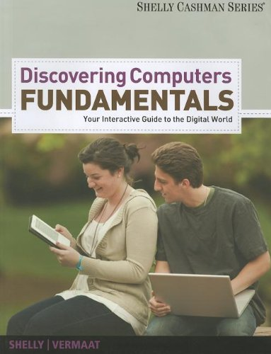 Enhanced Discovering Computers - Fundamentals: Your Interactive Guide to the Digital World (Book Only)   2013 9781285082882 Front Cover