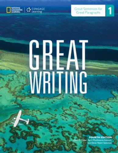 Great Writing 1 Student Book Great Sentences for Great Paragraphs:   2013 edition cover