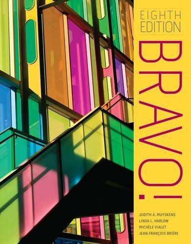 Bravo!  8th 2015 edition cover