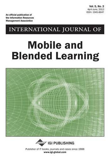 International Journal of Mobile and Blended Learning, Vol 5 ISS 2  0 edition cover