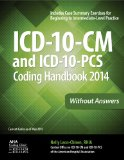 ICD-10-CM and ICD-10-PCS Coding Handbook, 2014 Ed. , Without Answers   2013 edition cover