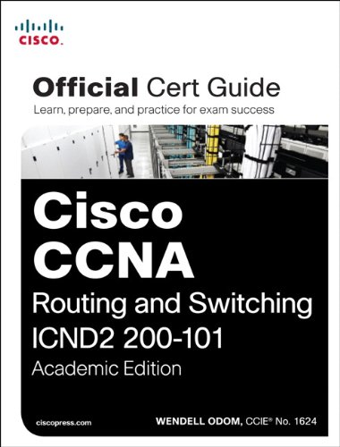 Cisco CCNA Routing and Switching ICND2 200-101  2013 edition cover