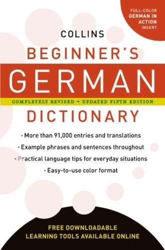 Collins Beginner's German Dictionary  5th 9780061374883 Front Cover