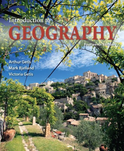 Introduction to Geography 14th 2013 9780073522883 Front Cover