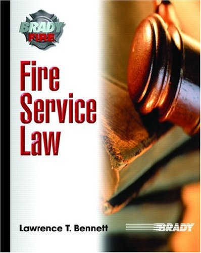 Fire Service Law   2008 edition cover