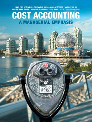 COST ACCT.-UPDATED-TEXT>CANADI N/A 9780133392883 Front Cover