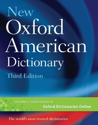 New Oxford American Dictionary  3rd 2010 edition cover