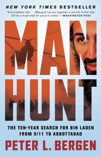 Manhunt The Ten-Year Search for Bin Laden--From 9/11 to Abbottabad  2012 edition cover